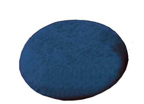 Sani-Alt Latex Kissen Sitzkissen Sit Ring Anti-Dekubitus-Sitzkissen OVAL, inkl. Bezug, (blau)
