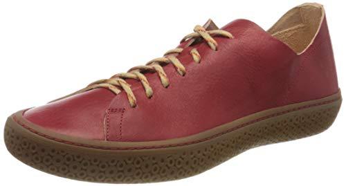 Think! Damen TJUB_3-000195 chromfrei gegerbte, nachhaltige Wechselfußbett Sneaker, 5000 FIRE, 43 EU