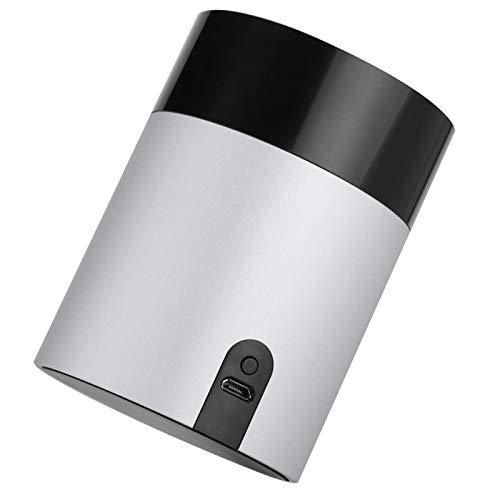 Tomanbery Sprachsteuerung Langlebige, in Sich geschlossene Sandstrahl-Sprachsteuerung aus Aluminiumlegierung Fernsteuerungs-Lernfunktion für Mobiltelefone