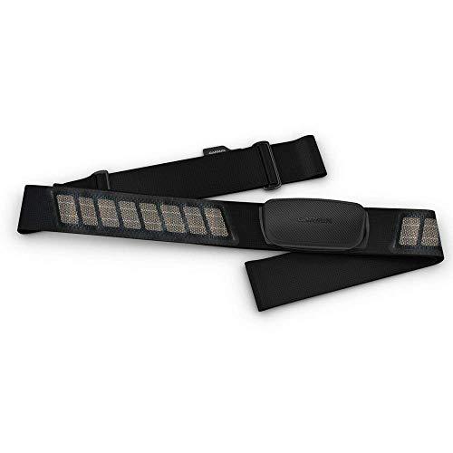 Garmin HRM-Dual - Fascia Cardio Premium ANT+ e Bluetooth BLE, Nero, One Size