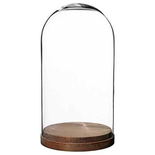 IKEA イケア HARLIGA ガラスドーム ベース付き 203.273.04,20327304