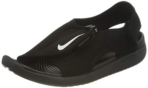 Nike Sunray Adjust 5 V2 (GS/PS), Sandal, Black/White, 38.5 EU