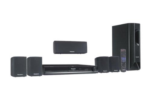 Panasonic SC PT 470 Heimkinosystem (DVD-Player, HDMI, DivX-zertifiziert, Apple iPodanschluss, USB 2.0) schwarz