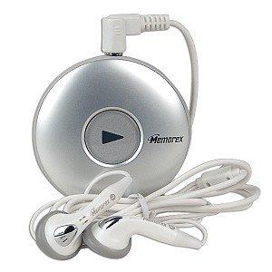 Memorex MMP8550-WHT 256MB USB 2.0 MP3 Player (Silver)