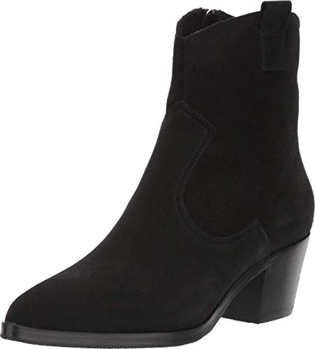 La Canadienne Womens Pepper Black Suede Ankle Boots Size 8.5
