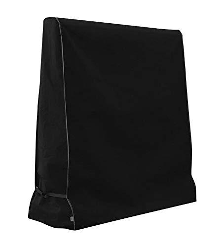 Xiliy Abdeckhülle für Tischtennisplatten mit Reißverschluss Oxford Polyester Ping Pong Tisch Abdeckung Wasser und UV beständig 165 x 70 x 185 cm