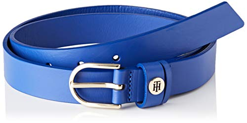 Tommy Hilfiger Damen Classic Belt 2.5 Gürtel, Blau (Blue C65), 85 cm