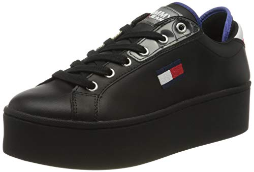 Tommy Hilfiger Damen Roxie 21a Sneaker, Schwarz (Black Bds), 37 EU