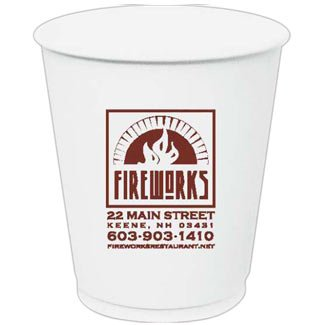 10 oz. Compostable Paper Hot Cup,full case of 1000