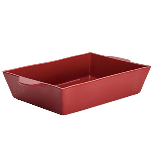 Ayesha Curry 46943 9' x 13' Stoneware Baker, Sienna Red