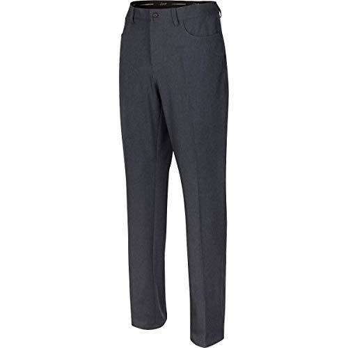 Greg Norman Ml75 Microlux Pantalon chiné 5 Poches pour Homme, Homme, Pantalon, G7S20P903-30, Noir chiné, 33W