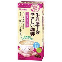 和光堂 牛乳屋さんのやさしい珈琲 65g(13g×5本)×24(6×4)箱入×(2ケース)