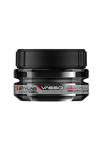 Vasso Styling Hair Gel The Rock Mnemonic Gum 250 ml.