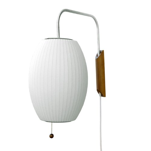 Modernica CIGAR-WALL-LAMP George Nelson Cigar Bubble Wall Sconce 120V