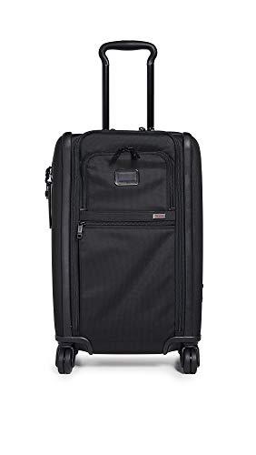 [トゥミ] スーツケース ソフト 公式 正規品 TUMI Alpha 3 インターナショナル・デュアル・アクセス・4ウィール・キャリーオン 機内持ち込み可 保証付 45L 56 cm 10.7kg Black
