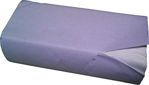 Papier-Falthandtuch 1-lagig, grau, 25x23cm, ZZ-Falz, 5000 Stück