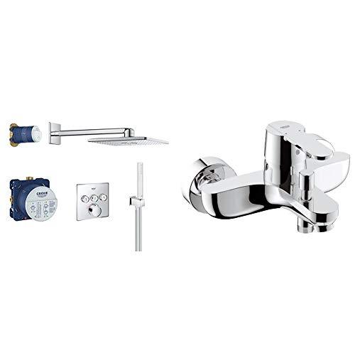 GROHE 34712000 - SmartControl Conjunto de ducha Perfect + Grohe GET grifo de baño/ducha Ref. 32887000