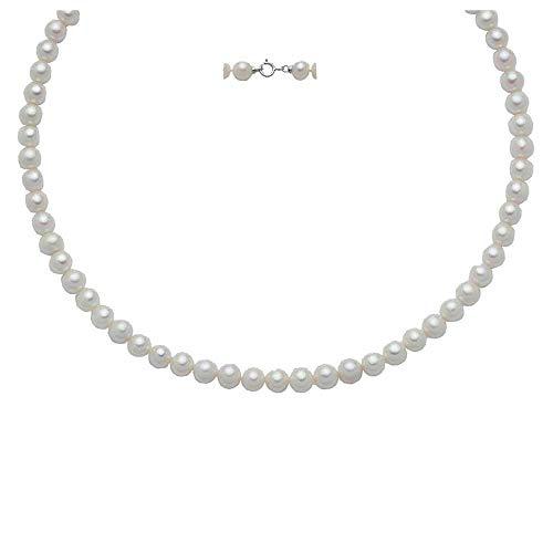 Collana Miluna girocollo perle e oro referenza PCL4900