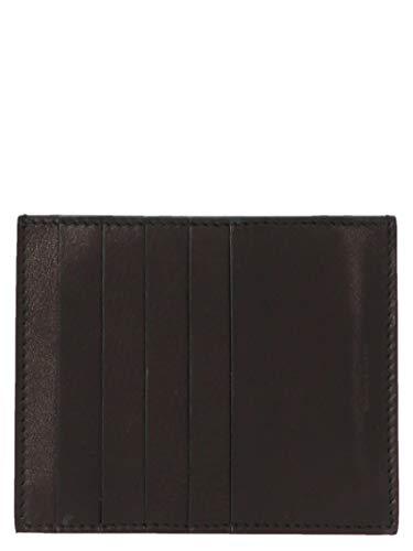 Rick Owens Luxury Fashion Herren RA20F0602LCW09 Schwarz Leder Kreditkartenetui | Herbst Winter 20