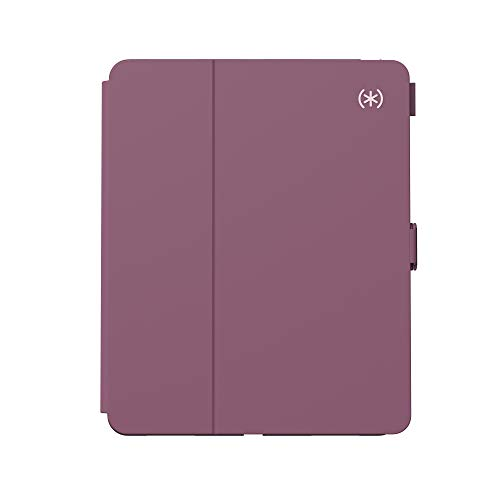 Speck Products Balance Folio Case, Compatible with iPad Pro 11-Inch (2018/2020), Plumberry Purple/Crushed Purple/Crepe Pink