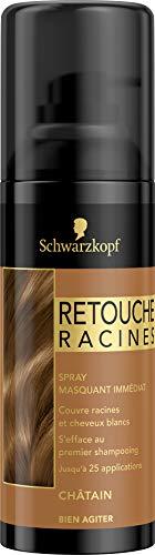 Schwarzkopf - Retouche Racines - Spray Masquant Racines - Châtain
