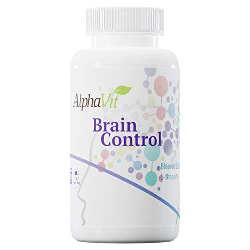 AlphaVit Brain Control met Blauw Glidkruid, draagt bij aan de leerprestatie en het concentratievermogen