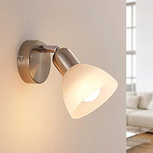 Lindby LED Deckenlampe 'Paulina' (Modern) in Alu aus Metall u.a. für Wohnzimmer & Esszimmer (1 flammig, E14, A+, inkl. Leuchtmittel) - Deckenleuchte, Wandleuchte, Strahler, Spot, Lampe