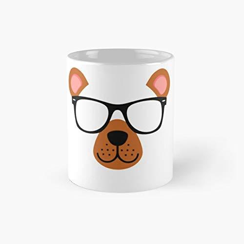 Taza clsica con diseo de oso de animal y perro   El mejor regalo divertidas tazas de caf de 325 ml