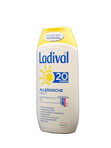 Ladival Allergische Haut Gel LSF 20, 200 ml