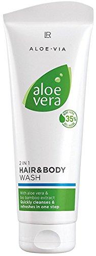 LR ALOE VIA Aloe Vera 2 in 1 Haar- und Körpershampoo 250 ml