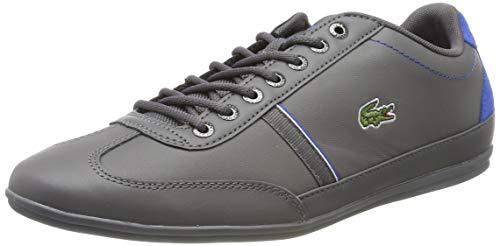 Lacoste Herren Misano Sport 118 1 CAM00831Z8 Sneaker, Mehrfarbig (Grey 001), 44.5 EU