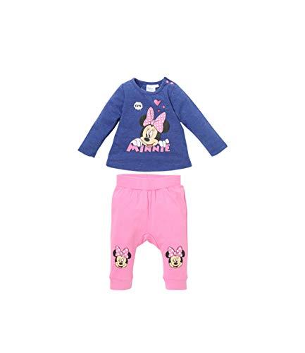 Disney Minnie Baby-Mädchen 2128 Bekleidungsset, Blau, 86
