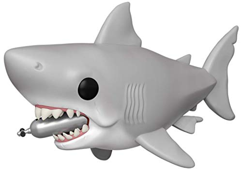 "Funko Pop! Movies: Jaws - Jaws with Diving Tank 6"" (Great White Shark) Pop! Vinyl Figure (Includes Compatible Pop Box Protector Case)"