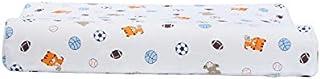 YYBF Almohada para niños de 2-8 años de Edad Almohada de látex Recuerdo Transpirable Goma de Goma núcleo Fútbol