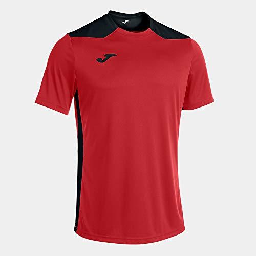 Joma Camiseta Manga Corta Championship Vi Rojo Negro, S