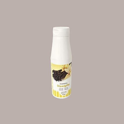 1 Kg Topping Salsa Guarnizione al Gusto VANIGLIA LEAGEL Alta Qualità per Decorare Gelato Yogurt Dolci Torte Semifreddi