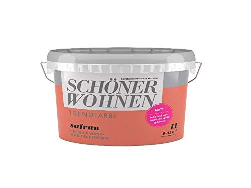 Schöner Wohnen Trendfarbe-Safran-matt-1L