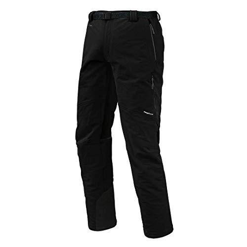 Trangoworld pc007744 – 614-xlc Pantalon Long, Homme, Noir, XL