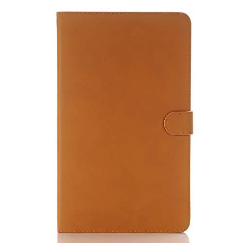 JIANGHONGYAN For Samsung Galaxy Tab A 10.1 / T580 Archaize Texture Funda de Cuero con Tapa magnética Horizontal con Soporte (Color : Naranja)