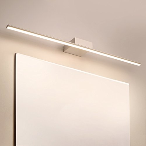 Spiegel voor koplampen, wit, LED, make-up, badkamer, dressing, licht, anti-condens, waterdicht
