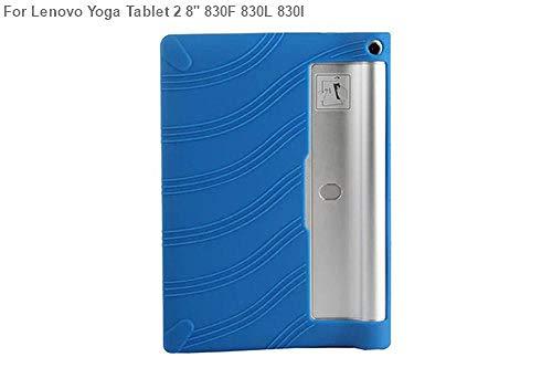 Funda de Silicona para Lenovo Yoga Tablet 3 8.0 850F 850M 850L Funda de Goma para Lenovo Yoga Tab 2 830F 830L 830I Funda Funda-Yoga Tab2 830F