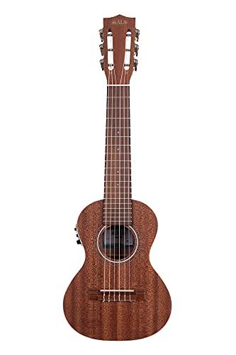 KALA カラ ウクレレギター Ukulele Guitar Series マホガニーボディ 6弦 エレキ仕様 KA-GL-E-WBAG20_06 (ケース付属) 【国内正規品】