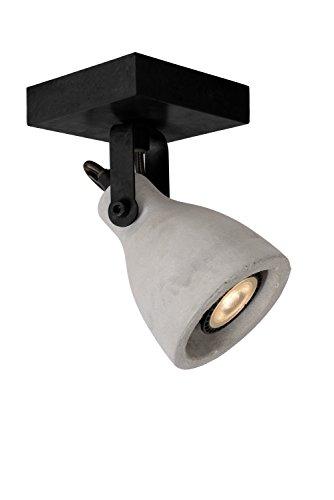Lucide 05910/05/30 Spot Plafond, Métal, GU10, 5 W, Noir