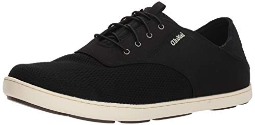 OLUKAI Men's Nohea Moku Shoes,Dark Wood/Dark...