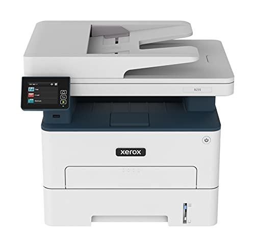 Xerox B235 Multifunzione Laser A4 - Copia/Stampa/Scansione/Fax, 34ppm, Bianco e Nero, Wireless con Stampa Fronte Retro, Pannello Touch a Colore