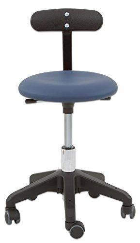 Unbekannt Erzieherstuhl, Sitzhöhe 36-43 cm - Höhenverstellbarer Gesundheitsstuhl mit Beckenstütze