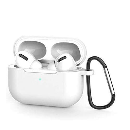 Capa Case Silicone Flexível AirPods Pro - Branco White