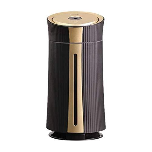 JJSFJH Luftreiniger Ultra-Quiet Luftreiniger Startseite Schlafzimmer for Reinigung von Luft PM2.5 Smog Rauch und Viren, Luftbefeuchter Home Office Desktop-Gold (Color : A)
