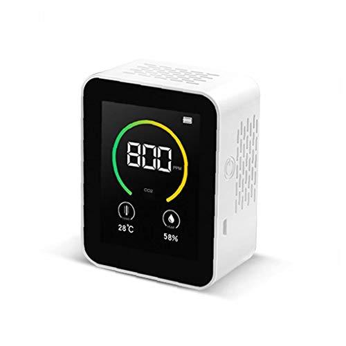 Detector de dióxido de Carbono Detector de Aire Contenido en Color TFT en Color de TFT de Pantalla del Monitor de Calidad del Aire Inteligente concentración de Gas del Sensor, Equipo al Aire Libre