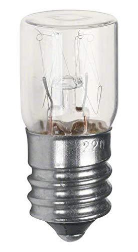 Hager - Lámpara incandescente e14 3w 230v cubierta plana